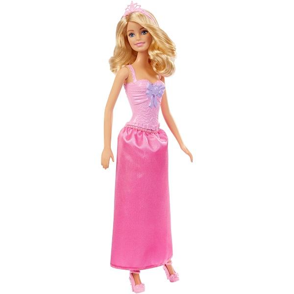 Купить Mattel Barbie DMM07 Барби Принцессы в розовом, Куклы и пупсы Mattel Barbie
