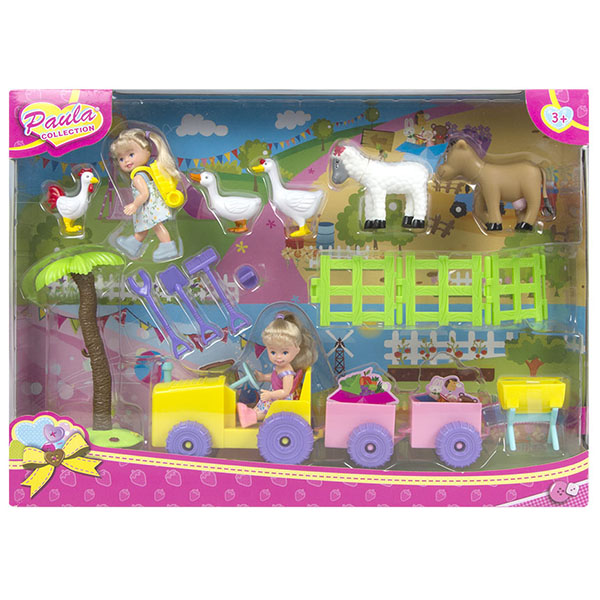 Купить Paula MC23604 Игровой набор Моя большая ферма , Игровые наборы и фигурки для детей Paula