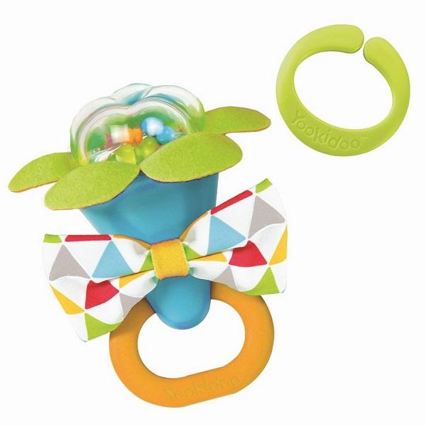 Купить Yookidoo 40150 Игрушка Моя первая погремушка (синий), Развивающие игрушки для малышей Yookidoo