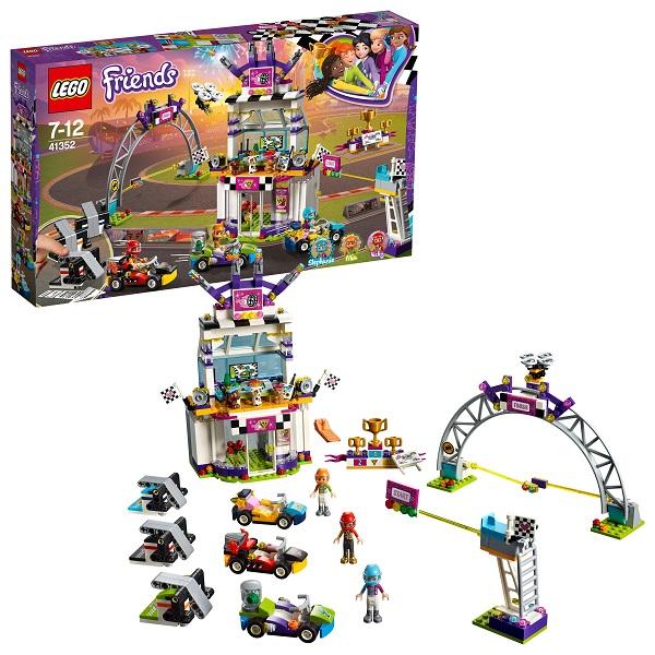 Lego Friends 41352 Конструктор Лего Подружки Большая гонка, арт:154206 - Подружки, Конструкторы LEGO