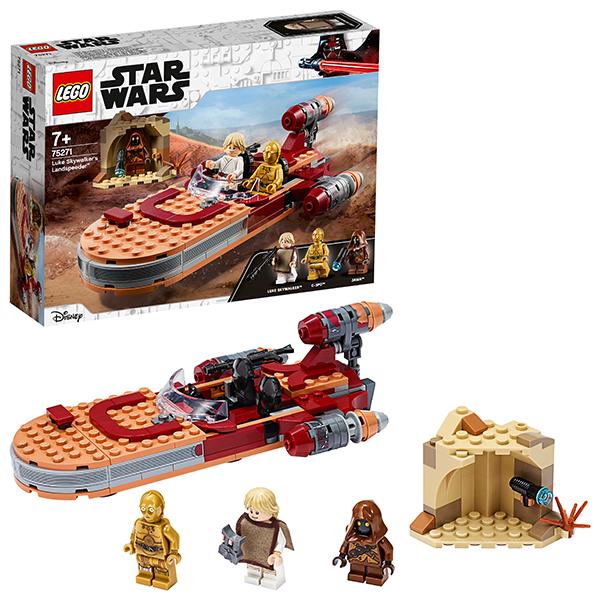Купить LEGO Star Wars 75271 Конструктор ЛЕГО Звездные войны Спидер Люка Сайуокера, Конструкторы LEGO