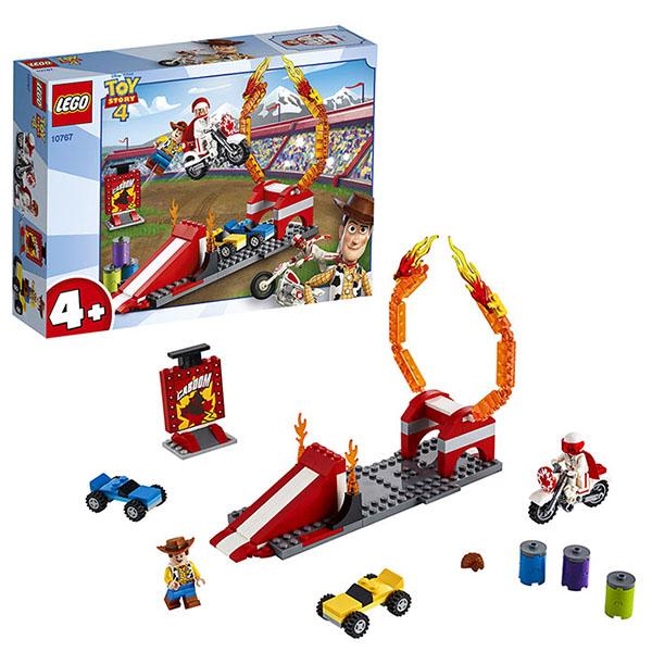 Купить LEGO Juniors 10767 Конструктор Лего Джуниорс История игрушек-4: Трюковое шоу Дюка Бубумса, Конструкторы LEGO