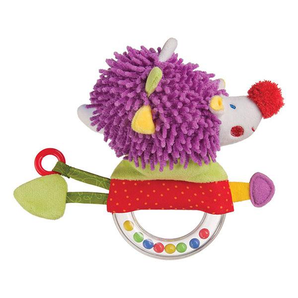 Купить Happy Baby 330356 Погремушка с пищалкой Ёж , Развивающие игрушки для малышей Happy Baby