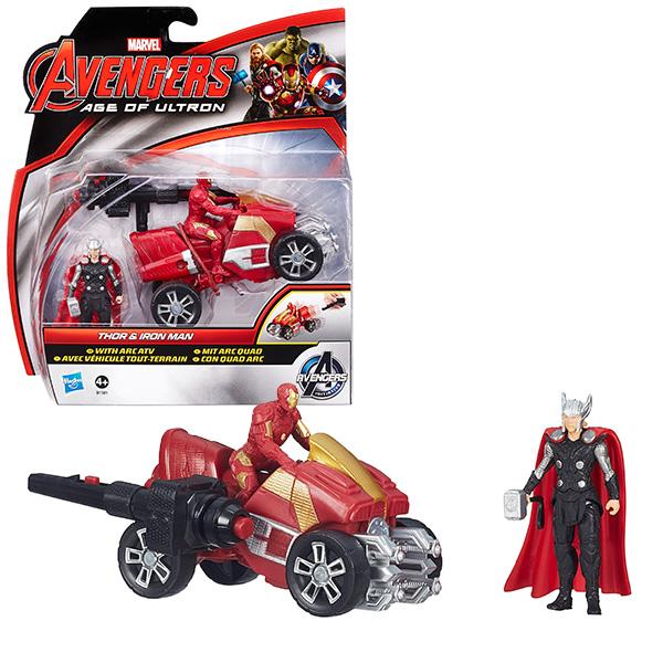 Hasbro Avengers B0448 Мини-фигурки Мстителей Делюкс (в ассортименте), арт:133130 - Супергерои, Игровые наборы