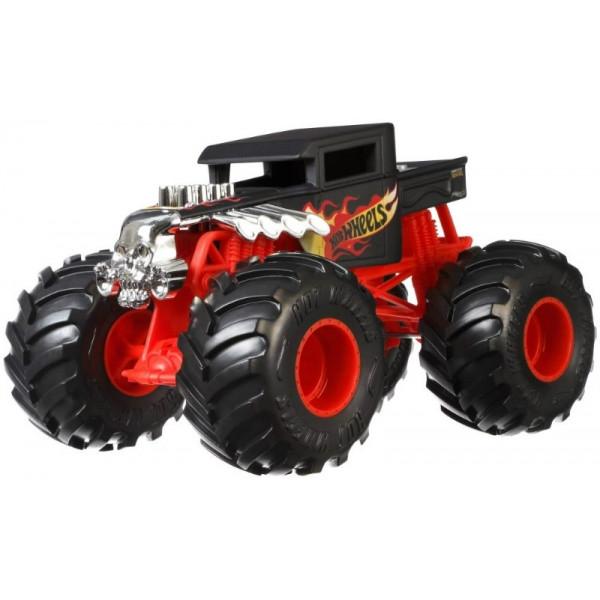 Купить Mattel Hot Wheels GCX15 Хот Вилс Монстр трак 1:24 BONE SHAKER, Игрушечные машинки и техника Mattel Hot Wheels