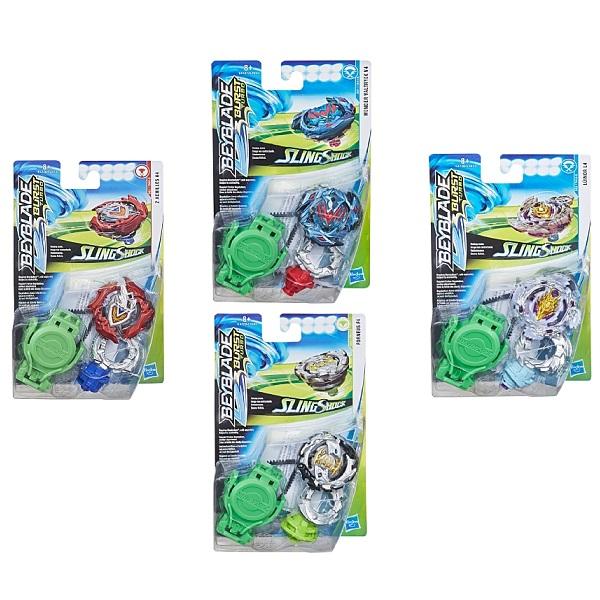 Купить Hasbro Bey Blade E4603 Бейблэйд СлингШок с пусковым устройством (в ассортименте), Игровые наборы ТМ