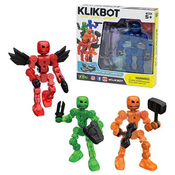 Игровые наборы и фигурки для детей Stikbot TST1600 Фигурка Klikbot фото