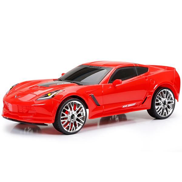New Bright 1222-2 Игрушка р/у Corvette Z06 (Красный)