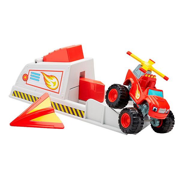 Mattel Blaze CGK15 Вспыш и чудо-машинки: Вспыш и пусковое устройство, арт:144377 - Машинки из мультфильмов, Транспорт