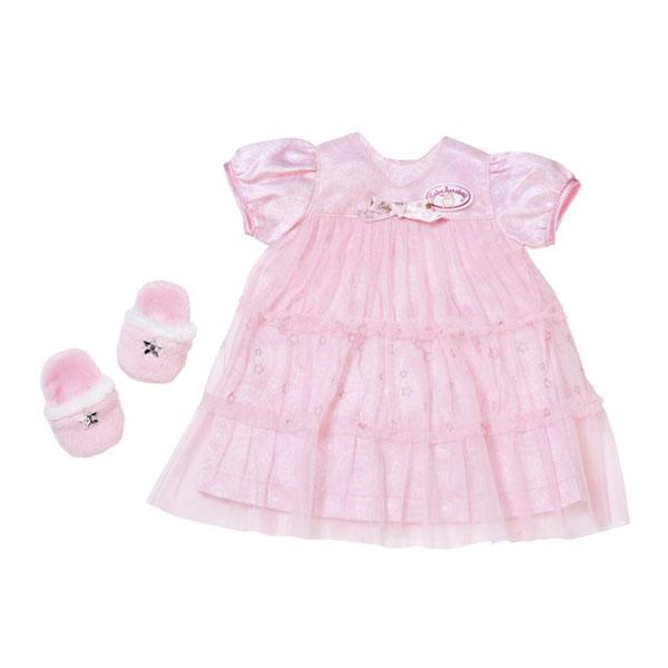 """Одежда для куклы Zapf Creation Baby Annabell 700-112 Бэби Аннабель Одежда """"Спокойной ночи"""" (платье и тапочки) фото"""