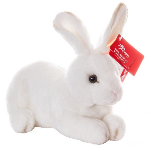 Купить Aurora 25-301 Аврора Кролик белый 25 см, Мягкая игрушка Aurora