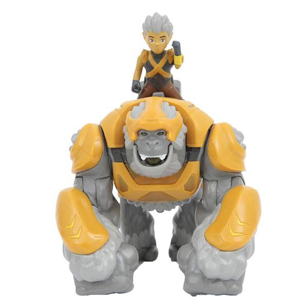 Gormiti GRM05000-1 Фигурка героя в комплекте с чудовищем  Горок и Трек (с подсветкой и звуком) - Игровые наборы