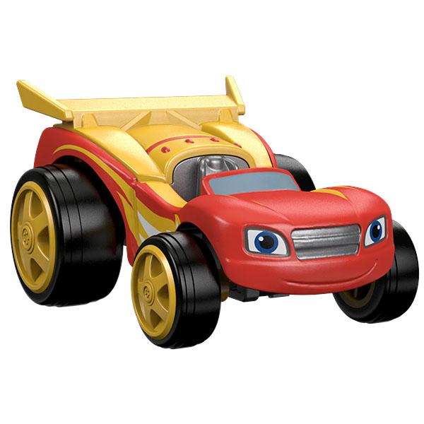 Машинка Mattel Blaze DTK19 Blaze Вспыш и его друзья чудо-машинки