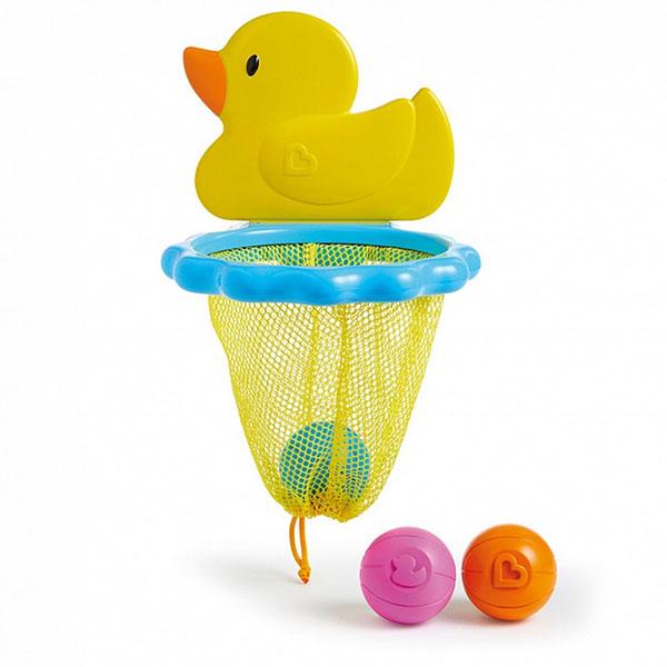 Купить MUNCHKIN 12412 NEW Игрушки для ванны Баскетбол Утка 12м+, Игрушки для ванной MUNCHKIN