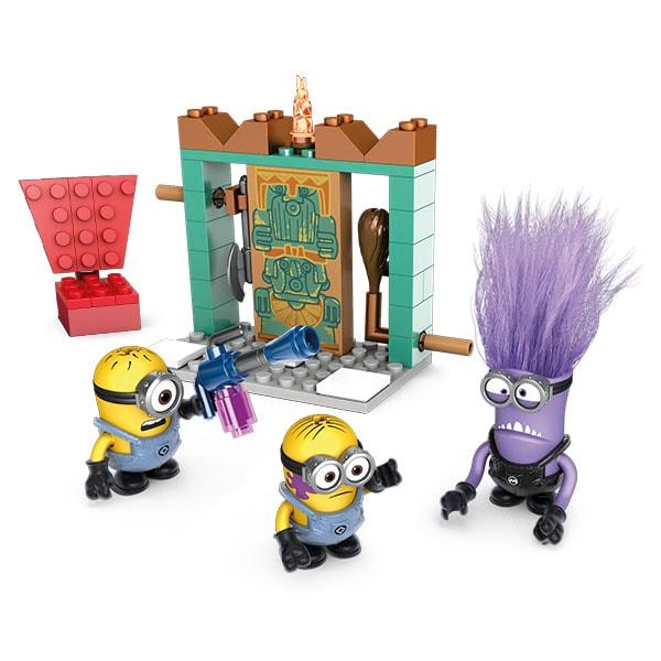 Mattel Mega Bloks DYD37 Мега Блокс Миньоны: фигурки персонажей