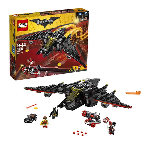 Купить LEGO Batman Movie 70916 Конструктор ЛЕГО Фильм Бэтмен: Бэтмолёт, Конструктор LEGO