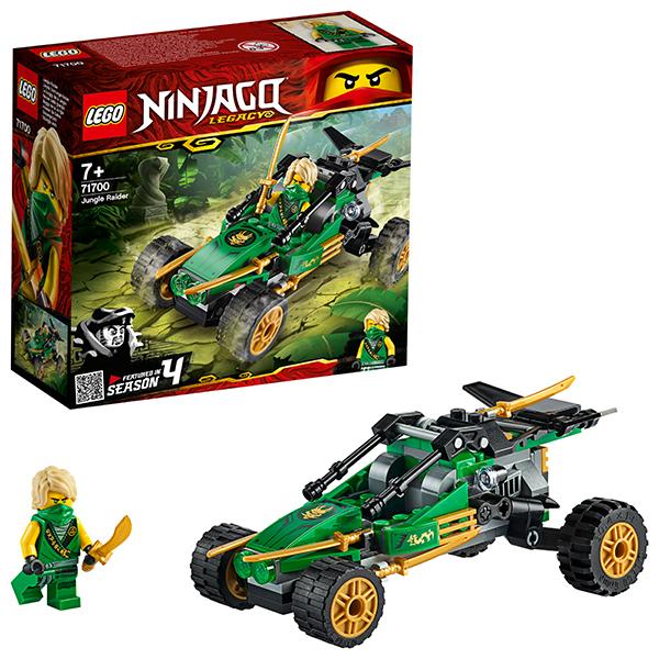 Конструкторы LEGO — LEGO Ninjago 71700 Конструктор ЛЕГО Ниндзяго Тропический внедорожник