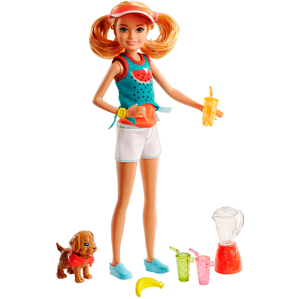 Mattel Barbie FHP63 Барби Сестры и щенки - Куклы и аксессуары