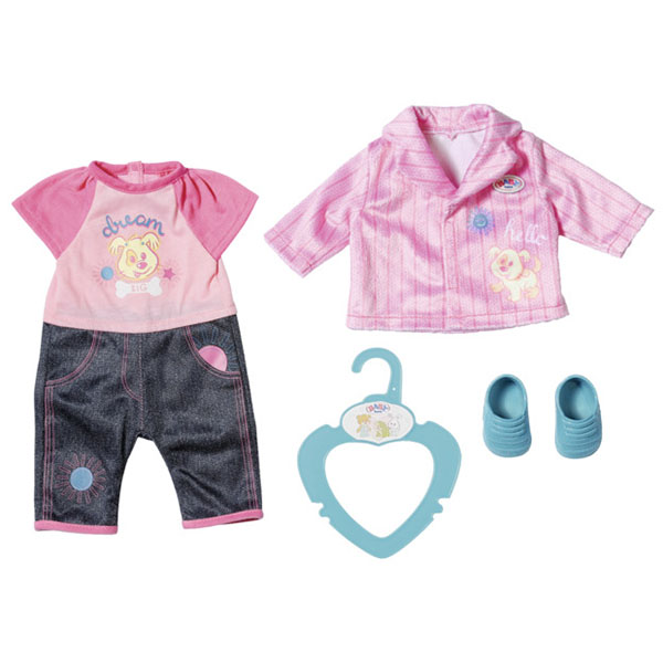Купить Zapf Creation Baby born 827-369 Бэби Борн my little BABY born Одежда для детского сада, 36 см, Одежда для куклы Zapf Creation