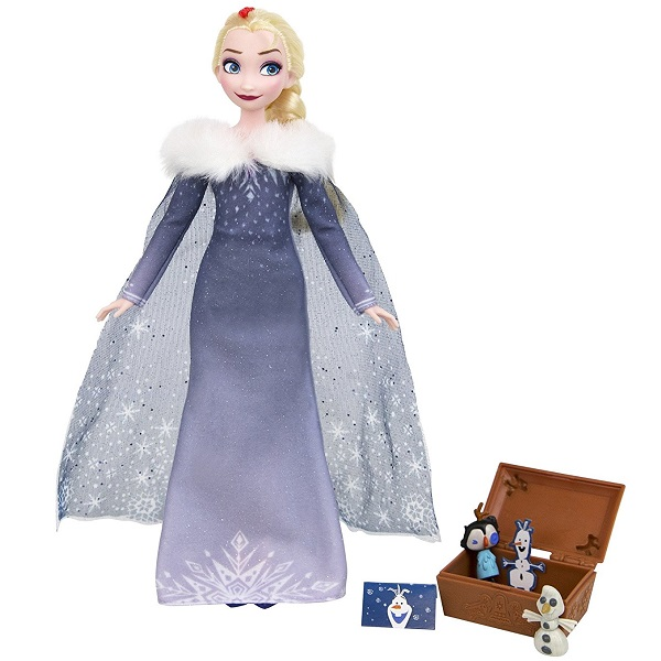 Hasbro Disney Princess C3382/C3383 Холодное сердце Рождество с Олафом Эльза, арт:155260 - Холодное сердце, Куклы и аксессуары