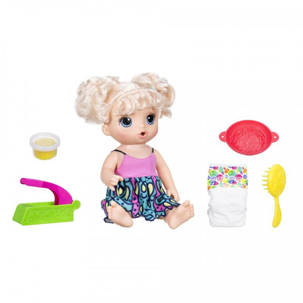 Купить Hasbro Baby Alive C0963 Малышка хочет есть, Кукла Hasbro Baby Alive