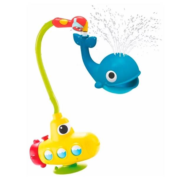 """Детские игрушки для ванной Yookidoo 40142 Игрушка водная """"Подводная лодка и Кит"""" фото"""