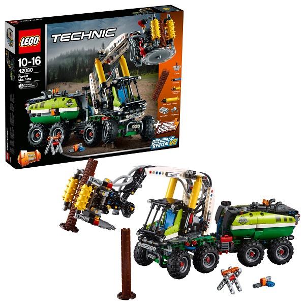 Купить LEGO Technic 42080 Конструктор ЛЕГО Техник Лесозаготовительная машина, Конструкторы LEGO