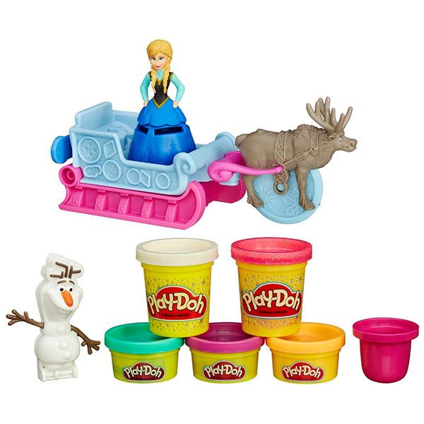 Купить Hasbro Play-Doh B1860 Игровой набор Холодное Сердце, Набор для творчества Hasbro Play-Doh