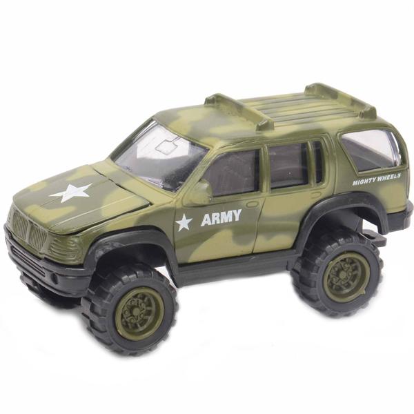 Купить Soma 78168 Военный внедорожник 12 см, Машинка New Bright&Soma