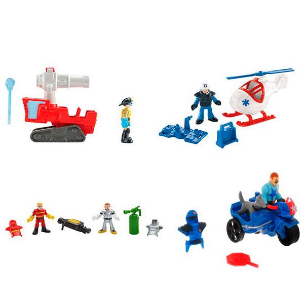 Купить Mattel Imaginext CJM55 Ассортимент береговой техники, Игровые наборы и фигурки для детей Mattel Imaginext