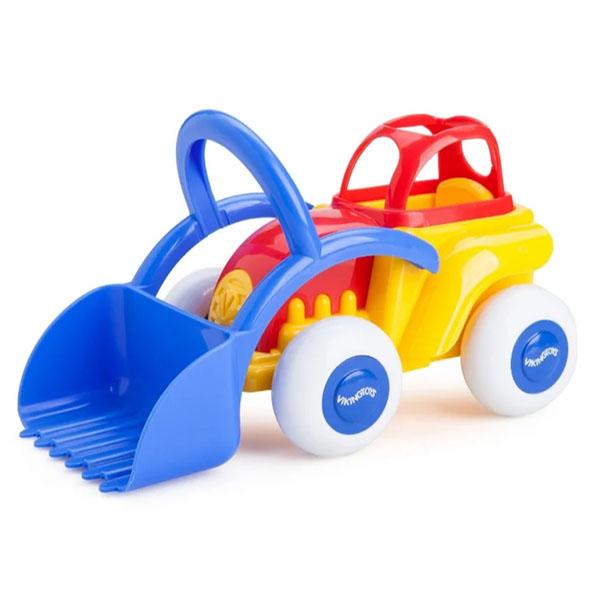 """Игрушечные машинки и техника Vikingtoys Vikingtoys 701232 Машинка """"Трактор MIDI"""" (новые цвета) по цене 629"""
