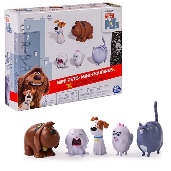 Набор фигурок Secret Life of Pets Secret Life of Pets 72817 Тайная жизнь домашних животных Набор из 5 мини-фигурок 72817