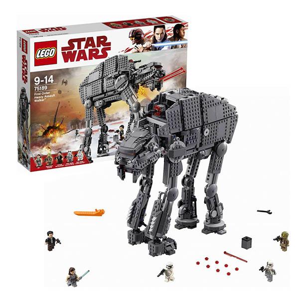 Lego Star Wars 75189 Конструктор Лего Звездные Войны Штурмовой шагоход Первого Ордена, арт:150664 - Звездные войны, Конструкторы LEGO