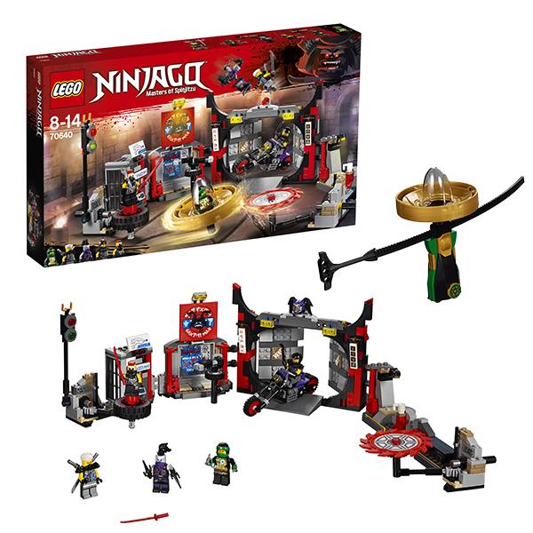 Купить Lego Ninjago 70640 Лего Ниндзяго Штаб-квартира Сынов Гармадона, Конструкторы LEGO