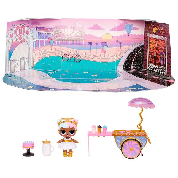 L.O.L. Surprise 572626 Игровой набор с куклой - тележка со сладостями  174580