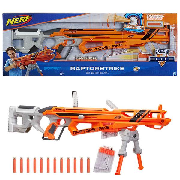 Купить Hasbro Nerf C1895 Нерф Аккустрайк Рапторстрайк (бластер), Игрушечное оружие Hasbro Nerf