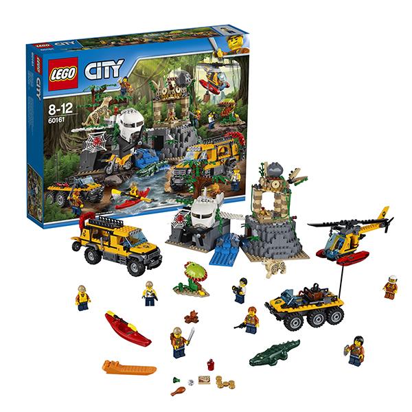 Lego City 60161 Конструктор Лего Город База исследователей джунглей, арт:149773 - Город, Конструкторы LEGO