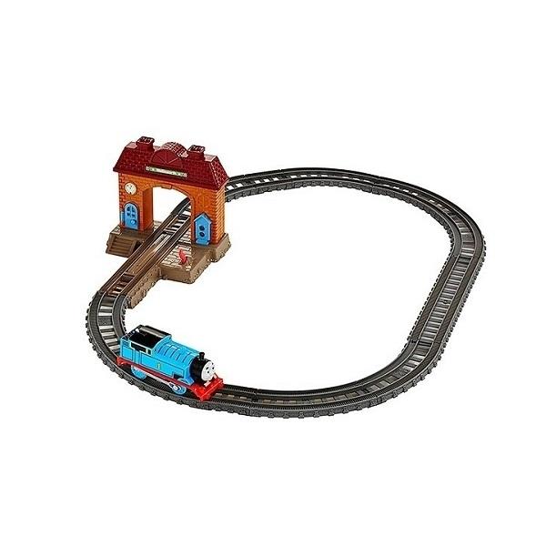 """Наборы игрушечных железных дорог, локомотивы, вагоны Mattel Thomas & Friends Mattel Thomas & Friends DFM49 Томас и друзья Игровой набор """"Томас и его друзья"""" 2 в 1 по цене 1 389"""