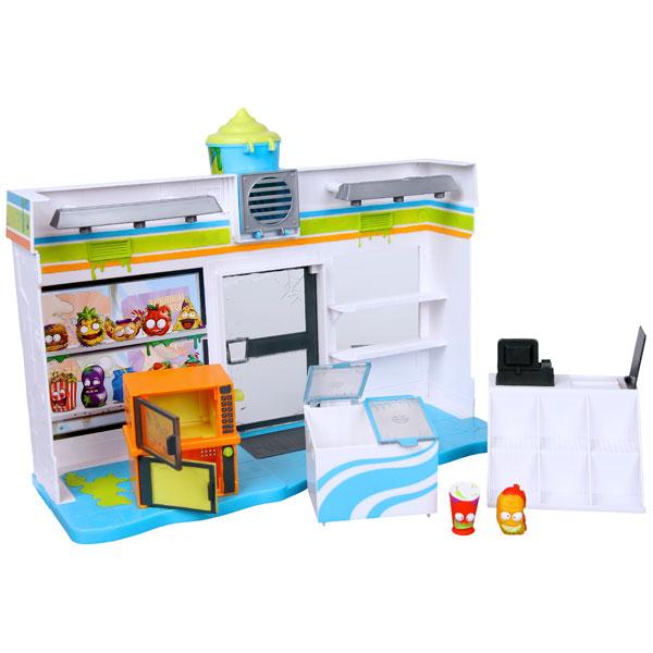 Купить Grossery Gang 69007 Набор Супермаркет с 2 фигурками, Игровой набор Mattel Hot Wheels