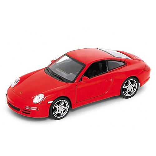Купить Welly 42369 Велли Модель машины 1:34-39 PORSCHE 911(997)CARRERA S COUPE, Машинка инерционная Welly, Welly