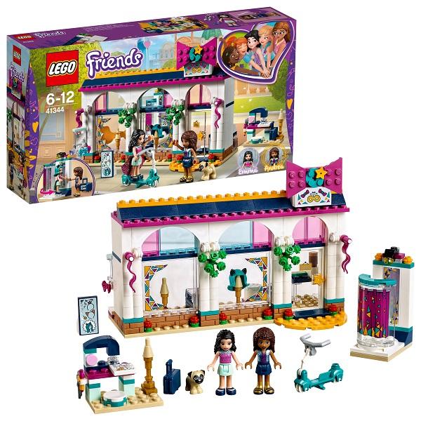 Lego Friends 41344 Конструктор Лего Подружки Магазин аксессуаров Андреа, арт:154198 - Подружки, Конструкторы LEGO