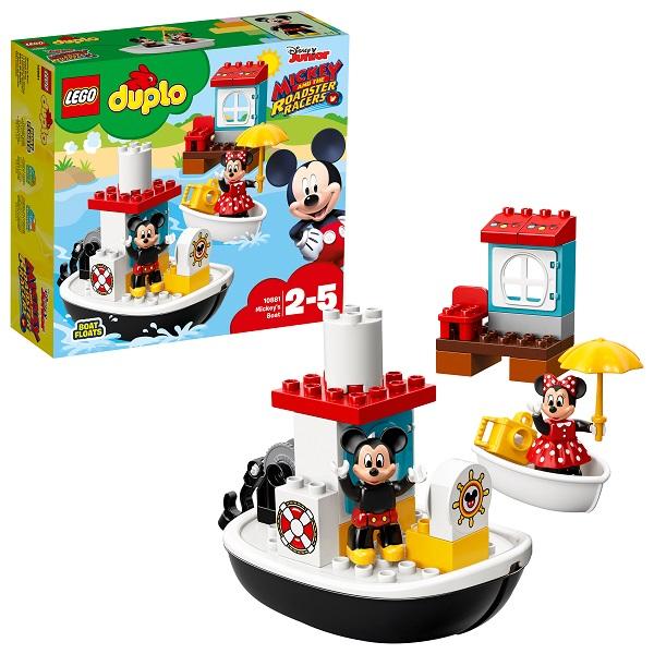 Купить Lego Duplo 10881 Конструктор Лего Дупло Дисней Катер Микки, Конструкторы LEGO