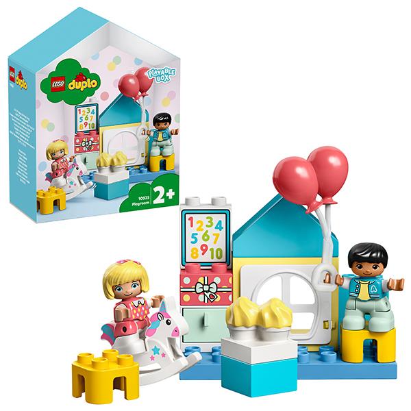 Конструкторы LEGO — LEGO DUPLO 10925 Конструктор ЛЕГО ДУПЛО Игровая комната