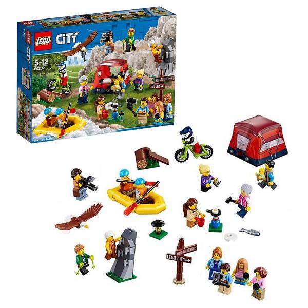 Купить Lego City 60202 Конструктор Лего Город Любители активного отдыха, Конструкторы LEGO