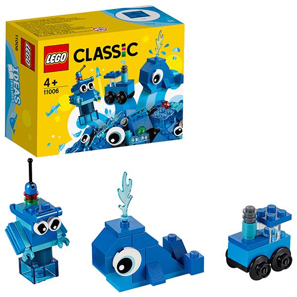 Купить LEGO Classic 11006 Конструктор ЛЕГО Классик Синий набор для конструирования, Конструкторы LEGO