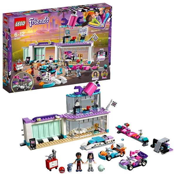 Lego Friends 41351 Конструктор Лего Подружки Мастерская по тюнингу автомобилей, арт:154202 - Подружки, Конструкторы LEGO