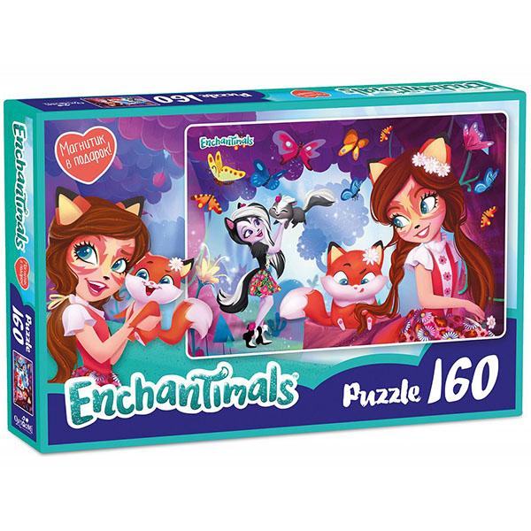 Enchantimals AST188873 Пазл Фелисити и Сейдж 160 элементов - Настольные игры