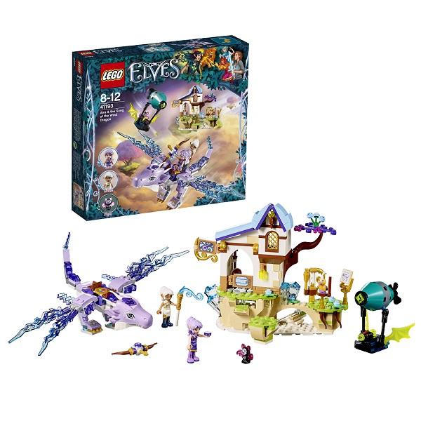 Lego Elves 41193 Конструктор Лего Эльфы Эйра и дракон Песня ветра
