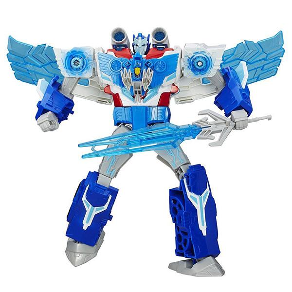 Фигурка трансформер Hasbro Transformers Transformers B7066 Трансформеры роботы под прикрытием: Заряженый Оптимус Прайм