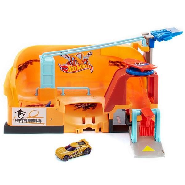 Купить Mattel Hot Wheels FNB16 Хот Вилс Сити Игровой набор Трюк со скейтом , автотрек Mattel Hot Wheels